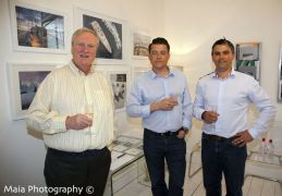 Kevin Clancy, Jason Hales and Steve Cadman