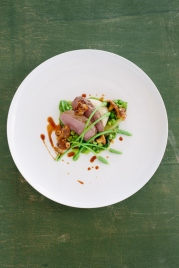 Lawns - Gigot of Lamb, peas, lettuce, wild asparagus, cockles - 3