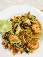 Pad Thai (Thai style special fried noodles)