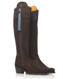 Fairfax and Favor Regina low heel boots