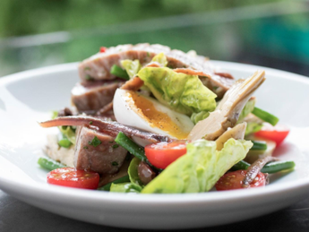 Chargrilled Tuna Niçoise from Opera Grill's new summer menu