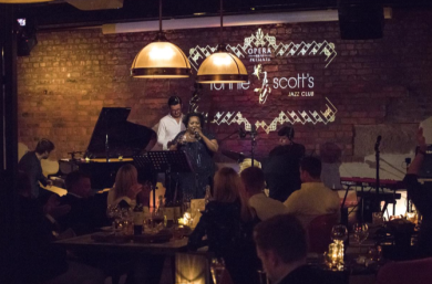 Aydenne Simone and the Liam Stevens Quartet