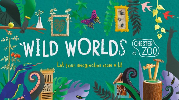 The major Wild Worlds Festival at Chester Zoo will begin 26 May_green