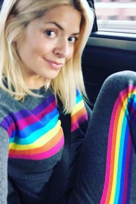 Holly Willoughby wears WYSE LONDON