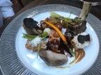 Iberico pork, Calvados jus