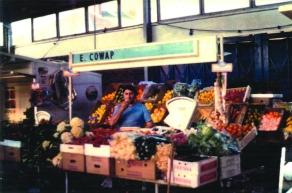 cowap market stall in Runcorn c1990s