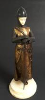 'Chevalier' by Dominique Alonzo bronze, c.1912, £4,595 from Garret & Hurst Sculpture