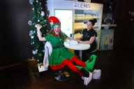 Excited elf hand & arm massage