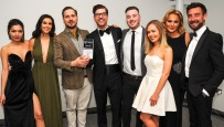 Chester Racecorse, Taste Cheshire Food and Drink Awards 2019. Picture Best Bar Gold award presented to Lono Cove SW2342019