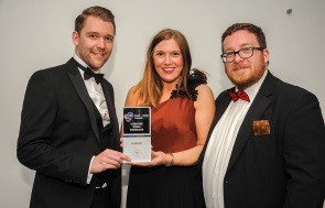 Chester Racecorse, Taste Cheshire Food and Drink Awards 2019. Picture Cheshire Drink Producer Winner presented to Great Drams. SW2342019