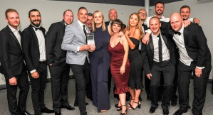 Chester Racecorse, Taste Cheshire Food and Drink Awards 2019. Picture Best Newcomer Gold award presented to The Oakfield at Chester Zoo. SW2342019