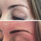 Semi permanent make up